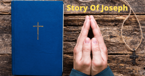 Story of Jesus with fold hands