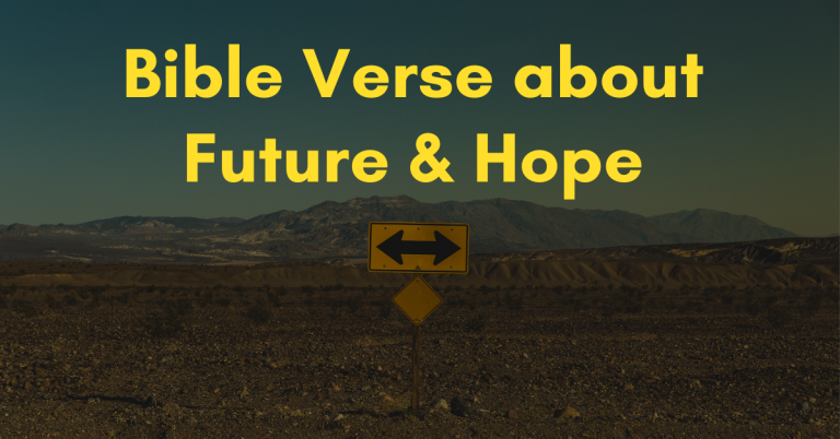 bible-verses about future and hope