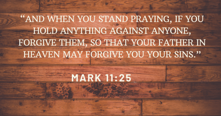 bible verses about forgiving others