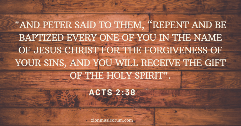 Baptism verses for adults